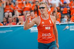 20180716 NED: CEV DELA Beach Volleyball European Championship day 2<br />Sven Vismans<br />©2018-FotoHoogendoorn.nl