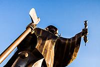 Monumento O Desbravador. Chapecó, Santa Catarina, Brasil. / <br /> O Desbravador (The Pathfinder) Monument. Chapeco, Santa Catarina, Brazil.