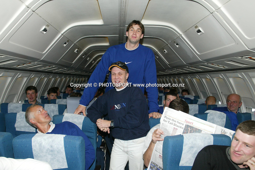 10 July 2003, Jeep International Basketball Series, NZ Tall Blacks vs Czech Republic.<br />