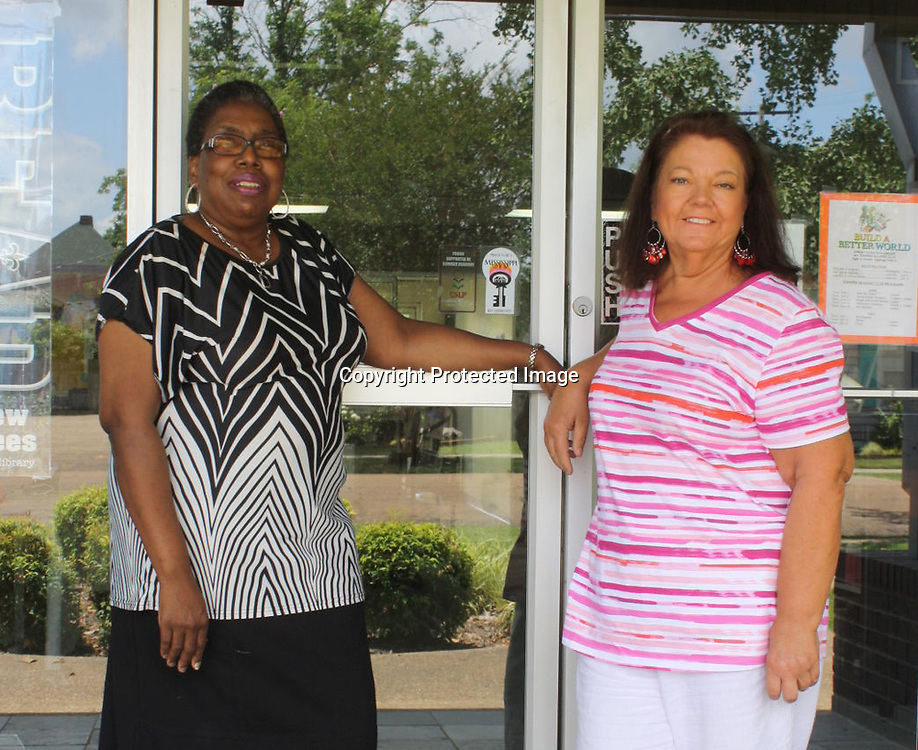 Ruby Holman, left, will open a new door in her life July 1 as she becomes branch manager for Amory Municipal Library, rising to the position held by retiring librarian Brenda Wilson.