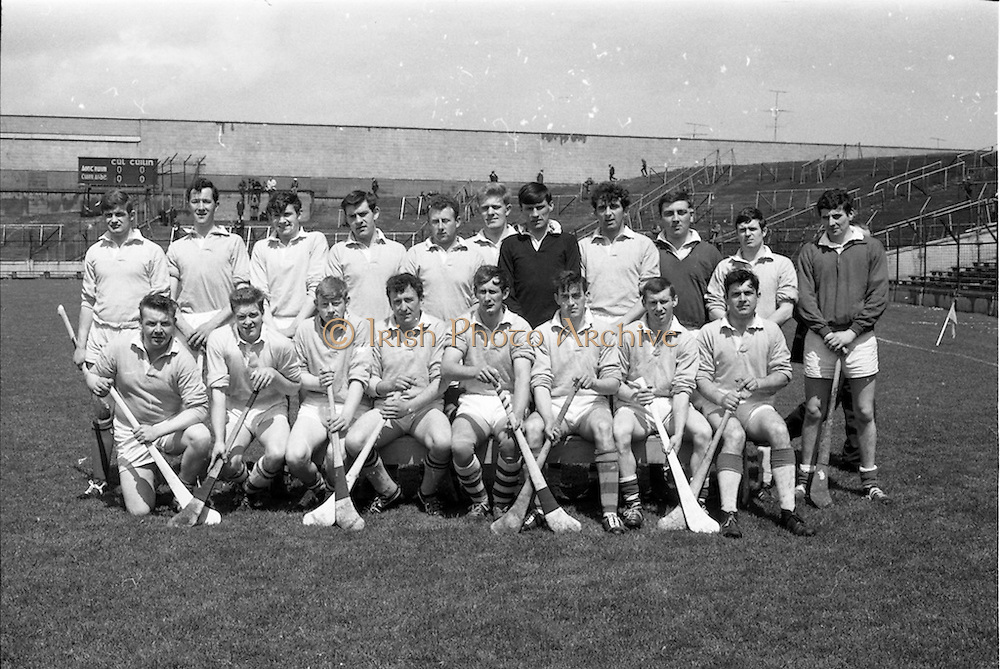 26/05/1968<br /> 05/26/1968<br /> 26 May 1968<br /> National Hurling League Final: Kerry v Antrim at Croke Park, Dublin.<br /> Antrim team.<br /> The Antrim team.