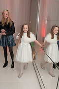 AMELIA ALLEN; ISABELLE ALLEN; , English National Ballet's celebrates their Christmas season at the London Coliseum,  St Martins Lane hotel. London. 13 December 2012.