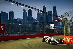 September 15, 2018 - Singapore, Singapore - Motorsports: FIA Formula One World Championship 2018, Grand Prix of Singapore, .#9 Marcus Ericsson (SWE, Alfa Romeo Sauber F1 Team) (Credit Image: © Hoch Zwei via ZUMA Wire)