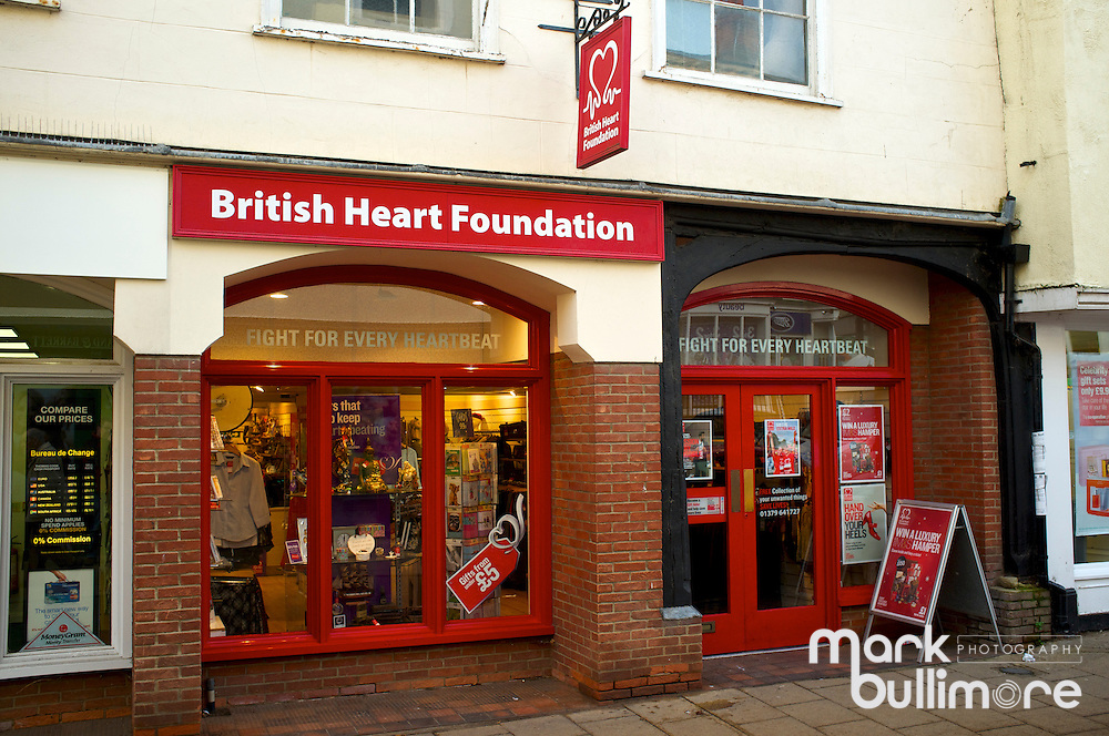 British Heart Foundation Charity Shop in Diss