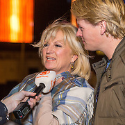 NLD/Amsterdam/20150929 - Start verkoop Disney in Concert 2015, Anita Meyer en Thomas Berge,