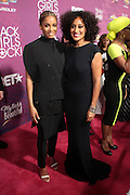 October 13, 2012- Bronx, NY: (L-R) Recording Artist Ciara and Actress Tracy Ellis Ross at the Black Girls Rock! Awards Red Carpet presented by BET Networks and sponsored by Chevy held at the Paradise Theater on October 13, 2012 in the Bronx, New York. BLACK GIRLS ROCK! Inc. is 501(c)3 non-profit youth empowerment and mentoring organization founded by DJ Beverly Bond, established to promote the arts for young women of color, as well as to encourage dialogue and analysis of the ways women of color are portrayed in the media. (Terrence Jennings)
