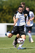 Hawke's Bay United Maxime Oliveri lines up a shot in the Handa Premiership football match, Hawke's Bay v Wellington, Bluewater Stadium, Napier, Sunday, February 03, 2019. Copyright photo: Kerry Marshall / www.photosport.nz