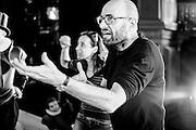 VIENNA, AUSTRIA - MAY 15, 2013: German movie (Medicus) and opera director Philipp Stölzl at rehearsals for Verdi's IL TROVATORE.