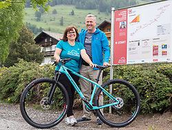 11.06.2019, Kals am Grossglockner, AUT, Laura Stigger Bike Challenge, Pressekonferenz, im Bild BGM Erika Rogl, Georg Oberlohr// major Erika Rogl and Georg Oberlohr during a press conference for the Laura Stigger Bike Challenge in Kls am Grossglockner. Austria on 2019/06/11. EXPA Pictures © 2019, PhotoCredit: EXPA/ Johann Groder