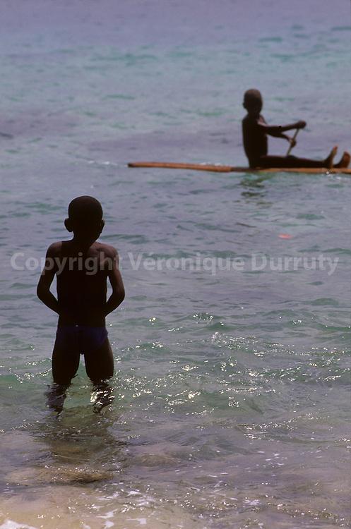 Rolas island is Situates on the Equatoe.Sao Tome Et Principe