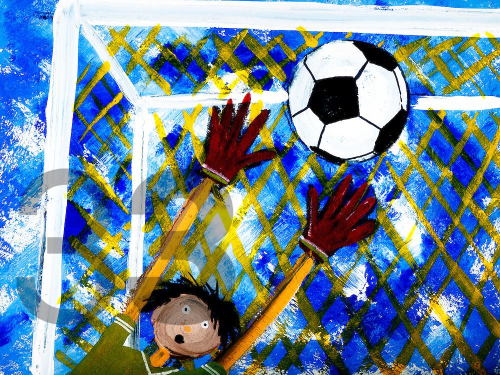 Ilustraciones realizadas para Gol X Mexico de GNP Seguros.