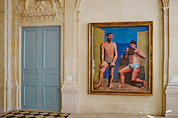 France, Paris (75), Musee Picasso, La Flute de Pan, 1923 // France, Paris, Picasso museum, The Pan Flute, 1923