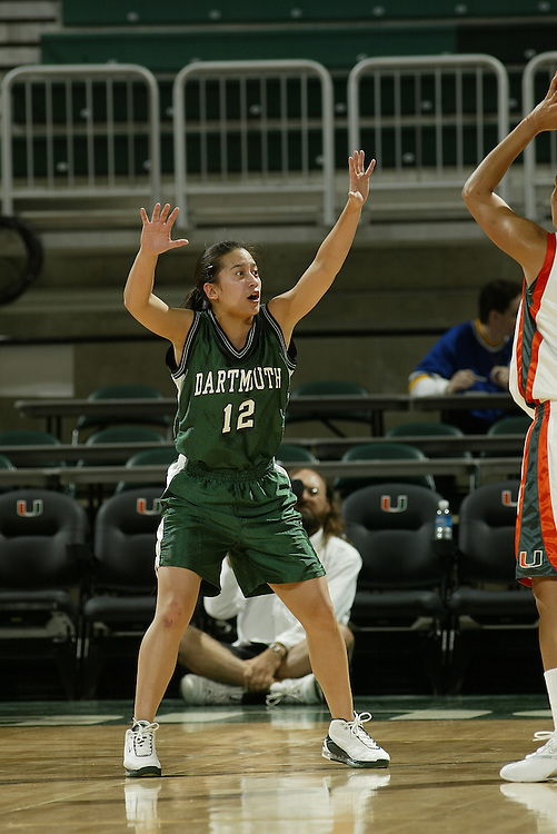 JC Ridley Photos Archive<br /> <br /> 2004 Dartmouth Women's Basketball