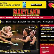 Photograph: University of Maryland Athletics Website - 2013