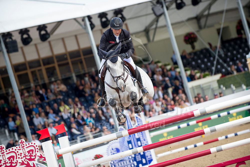 Piergiorgio Bucci (ITA) & Bohemian Rhapsody - Rolex Grand Prix - CSI5* Jumping - Royal Windsor Horse Show - Home Park, Windsor, United Kingdom - 14 May 2017