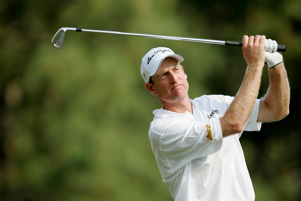 PINEHURST, NORTH CAROLINA - JUNE 16, 2005<br /> Jim FURYK during the 1st Round of the 2005 U.S. Open Championship, held at Pinehurst No.2 in the Village of Pinehurst, North Carolina.
