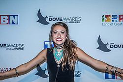 October 11, 2016 - Nashville, Tennessee, USA - Lauren Daigle at the 47th Annual GMA Dove Awards  in Nashville, TN at Allen Arena on the campus of Lipscomb University.  The GMA Dove Awards is an awards show produced by the Gospel Music Association. (Credit Image: © Jason Walle via ZUMA Wire)
