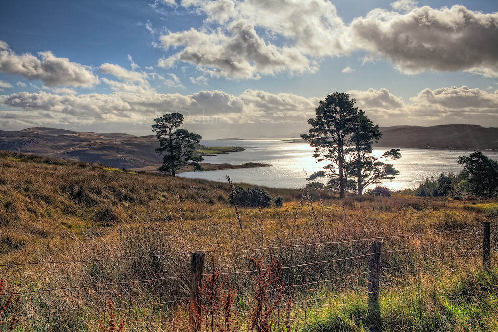 A view of Kyles of Bute from the bluffs above.