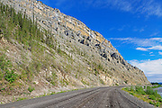 Ogilvie Mountains along the Dempster Highway (KM 195 - 220)<br /> Dempster Highway<br /> Yukon<br /> Canada