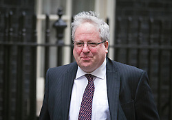 © London News Pictures. 26/02/2013. London, UK.     Secretary of State for Transport Patrick McLoughlin  MP leaving on Downing Street following cabinet meeting. Photo credit: Ben Cawthra/LNP.