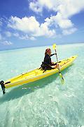Woman Kayaking<br />