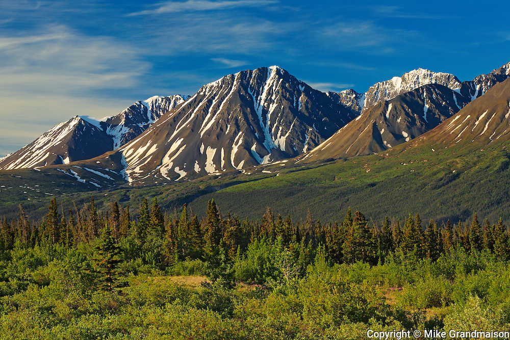 St. Elias Mountains, a subgroup of the Pacific Coast Ranges<br />
