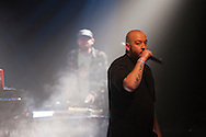 Dirtydice's Scott Nolan performs at Spirit of Hip Hop on December 2, 2016 at the Knitting Factory in Boise, Idaho. This benefit show, presented by Earthlings Entertainment, utilized their hip hop roots to raise funds for Hays House and Idaho Food Bank.<br /> <br /> Performers included Freedom Renegades, Illest*Lyricists, Exit Prose, CoreVette Dance Crew, Dirtydice, Dedicated Servers, Earthlings Entertainment, DJ Manek and Auzomatik.