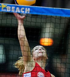04-01-2020 NED: NK Beach volleyball Indoor, Aalsmeer<br /> Danique Timmermans