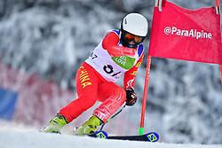 WANG Qingyun, LW6/8-2, CHN, Men's Giant Slalom at the WPAS_2019 Alpine Skiing World Championships, Kranjska Gora, Slovenia
