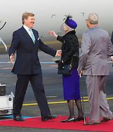 Copenhagen, 17-03-2015<br /> <br /> <br /> State Visit King Willem-Alexander and Queen Maxima to Denmark. Arrival at the airport<br /> <br /> Photo: Bernard Ruebsamen/Royalportraits Europe