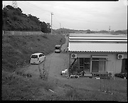 Mr. and Mrs  Takano  temporary housing in  Fukushima City, about  30 km  from their  home in the  contaminated  farming community of Iitate,Fukushima.
