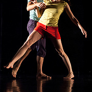 """September 18, 2012 - New York, NY : Denisa Musilova, foreground, and Darrin Wright perform during a dress rehearsal of Tami Stronach's """"CLOSER"""" (work in progress) at Dance New Amsterdam in Manhattan on Tuesday night. CREDIT: Karsten Moran for The New York Times"""
