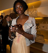 JENNIFER EWAH, - BOOK PARTY FOR A BOOK BY DONNA FRANCESCA CENTURIONE SCOTTO AT Salvatore Ferragamo, 24 Old Bond Street, London W1. 14 May 2009