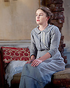 The Plough and the Stars <br /> directed by Howard davies and Jeremy Herrin <br /> at The Lyttelton Theatre, National Theatre, Southbank, London, Great Britain <br /> Press photocall<br /> 26th July 2016 <br /> <br /> Josie Walker as Mrs Gogan <br /> <br /> Lloyd Hutchinson as Peter Flynn <br /> <br /> Tom Vaughan-Lawlor as The Covey <br /> <br /> Justine Mitchell as Bessie Burgess <br /> <br /> <br /> <br /> Adam Best as Captain <br /> Fiona Walton as Jack Clitheroe <br /> <br /> Judith Roddy as Nora Clitheroe <br /> <br /> <br /> <br /> Photograph by Elliott Franks <br /> Image licensed to Elliott Franks Photography Services
