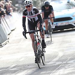 25-02-2017: Wielrennen: Omloop Het Nieuwsblad: Gent  <br /> GENT (BEL) wielrennen  <br /> Ellen van Dijk maakte de koers hard