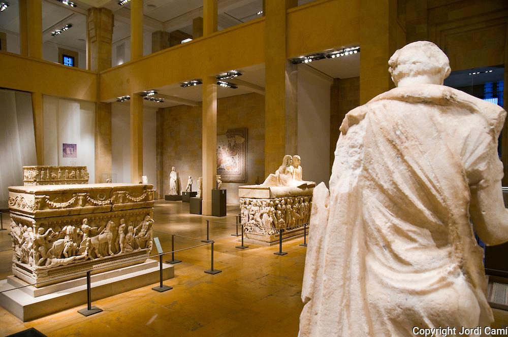 BEIRUT,LEBANON- JUNE 2009  : Beirut National Museum.Beirut. Lebanon.06/05/2009 ( Photo by Jordi Cami )