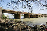 Ethiopia, Amhara Region Bridge over the Blue Nile river