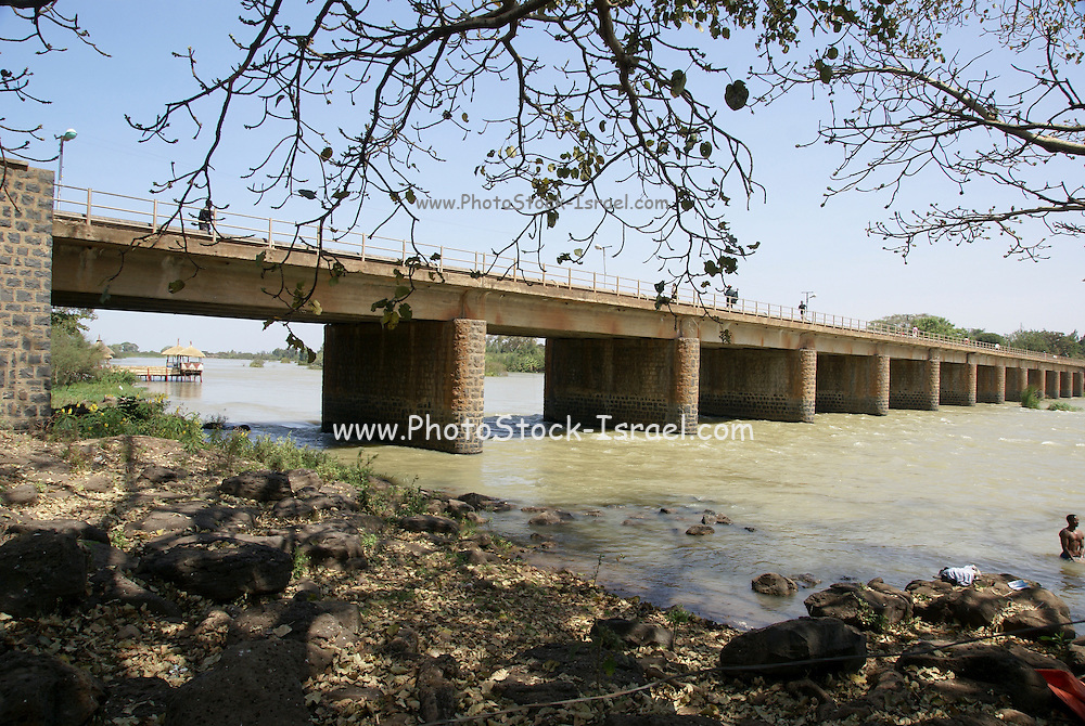 Ethiopia, Amhara Region Bridge over the Blue Nile river