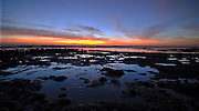 Intertidal Sunset; Cabrillo National Monument, San Diego, CA USA