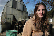 Nancy Brill, farmer, at the Springdale Farm Market in Cherry Hill, New Jersey.