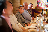 5 Lakes Energy Retirement Dinner for Skip Pruss  at Stella Trattoria in Traverse City on Monday, May 15, 2017. 