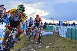 Men Elite, Cyclo-cross Superprestige #8 Middelkerke, Belgium, 14 February 2015, Photo by Paul Burgoine / PelotonPhotos.com