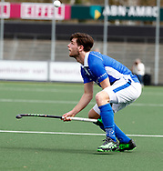 AMSTELVEEN - Hockey - Hoofdklasse competitie heren. AMSTERDAM-KAMPONG (2-2). Lars Balk (Kampong).  COPYRIGHT KOEN SUYK