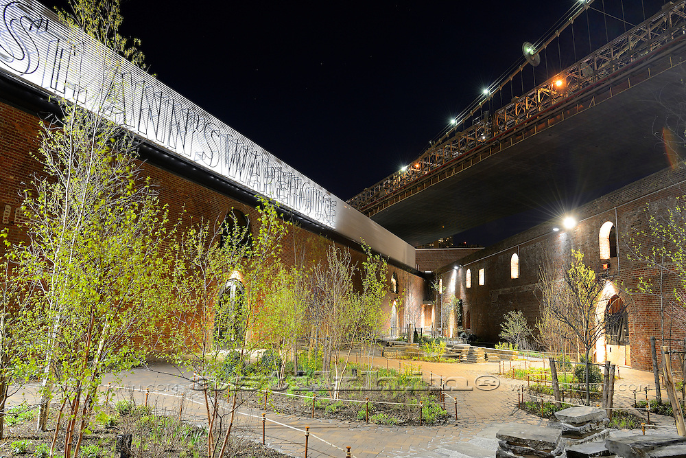 Empire-Fulton Ferry State Park and St. Ann's Warehouse, 21stC Theater.