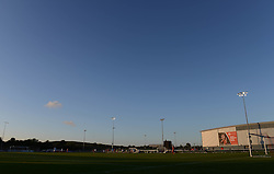 A general view of Stoke Gifford Stadium during Bristol Academy Women against Oxford United Ladies  - Mandatory byline: Dougie Allward/JMP - 07966386802 - 27/08/2015 - FOOTBALL - Stoke Gifford Stadium -Bristol,England - Bristol Academy Women FC v Oxford United Women - FA WSL Continental Tyres Cup