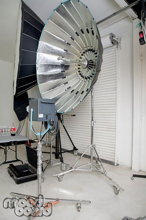 Photographing equipments in studio