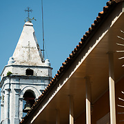 Iglesia San Jose is in the heart of Casco Viejo, the historic old quarter of Panama City, Panama. Iglesia San Jose is in the heart of the historic Casco Viejo district of Panama City and dates to 1673.