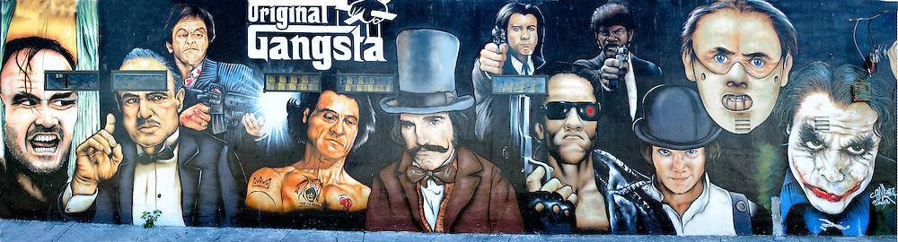The Original Gangsta Mural at Wynwood Art District<br />  in Miami