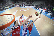 DESCRIZIONE : Torino Coppa Italia Final Eight 2011 Quarti di Finale Bennet Cantu Angelico Biella<br /> GIOCATORE : Goran Jurak Benjamin Ortner<br /> SQUADRA : Bennet Cantu<br /> EVENTO : Agos Ducato Basket Coppa Italia Final Eight 2011<br /> GARA : Bennet Cantu Angelico Biella<br /> DATA : 11/02/2011<br /> CATEGORIA : rimbalzo special<br /> SPORT : Pallacanestro<br /> AUTORE : Agenzia Ciamillo-Castoria/C.De Massis<br /> Galleria : Final Eight Coppa Italia 2011<br /> Fotonotizia : Torino Coppa Italia Final Eight 2011 Quarti di Finale Bennet Cantu Angelico Biella<br /> Predefinita :