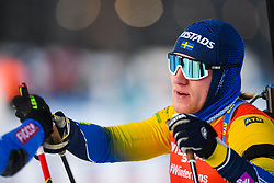 March 10, 2019 - –Stersund, Sweden - 190310 Sebastian Samuelsson of Sweden looks dejected after the Men's 12,5 km Pursuit during the IBU World Championships Biathlon on March 10, 2019 in Östersund..Photo: Petter Arvidson / BILDBYRÃ…N / kod PA / 92255 (Credit Image: © Petter Arvidson/Bildbyran via ZUMA Press)